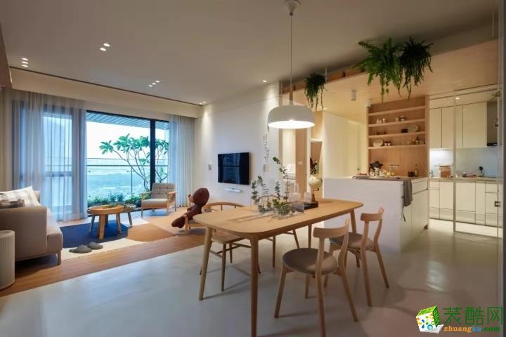 武汉160�O四室两厅装修―阳光100日式风格设计效果图