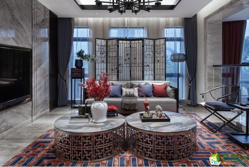【天蒂家装饰】复古典雅中式别墅装修设计案例