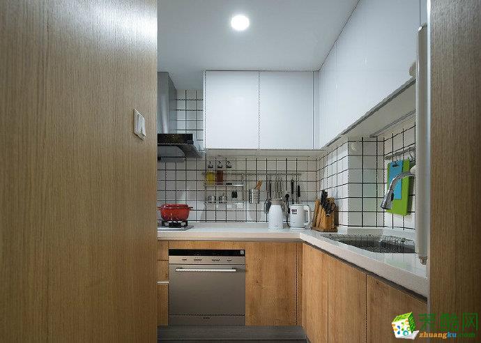 重庆80平米两室两厅一厨一卫装修 远洋城 北欧风格装修案例效果图赏析 佳天下装饰