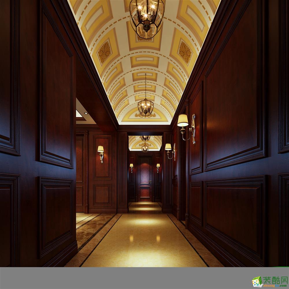 450平米欧式风格独栋别墅装修案例效果图赏析-拉齐娜装饰