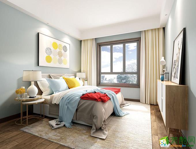 无锡锦华装饰-130平米现代简约三居室装修案例
