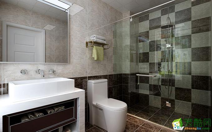 无锡欧景装饰-120平米现代简约三居室装修案例