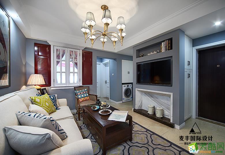 杭州70�O新房装修―三里新城2室2厅简美设计装修效果图
