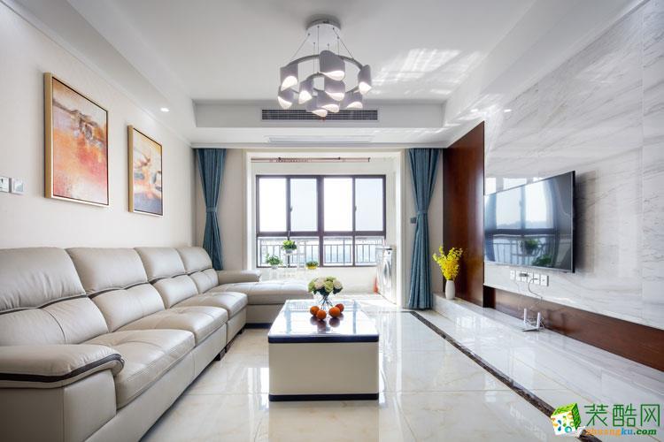 客廳【名豪裝飾】100平方現代簡約風格裝修效果圖 【名豪裝飾】100