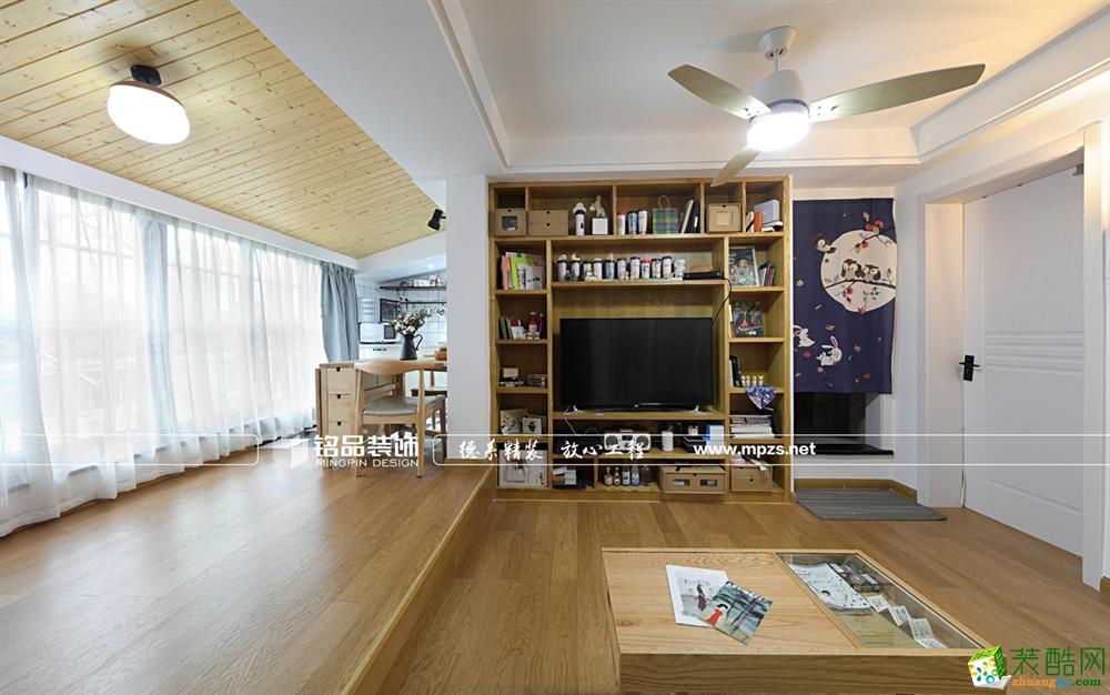 杭州60�O小户型装修―环城北路六弄1室1厅卫北欧作品