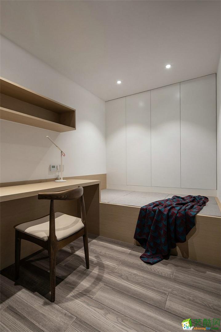 成都110平米现代简约风格三室两厅一厨两卫案例装修效果图赏析-天地和装饰