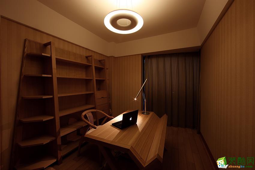杭州120�O新房装修―东方润园三室两厅两卫新中式风格效果图