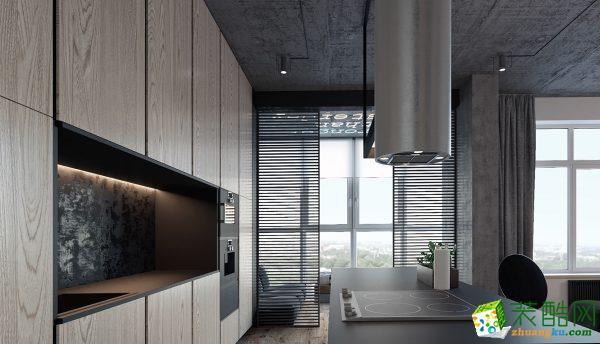 105平三居室东南亚风格装修效果图