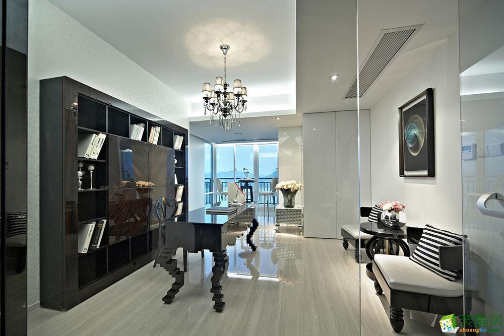 临安140�O四室两厅两卫装修―康源装饰新古典风格设计作品