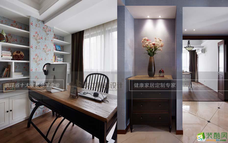 诸暨三室两厅一卫装修―良工装饰新古典风格装修效果图
