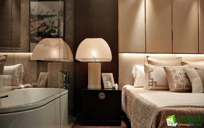 重庆 梧桐郡140平米三室两厅一厨一卫中式风格案例装修效果图赏析-佳天下装饰