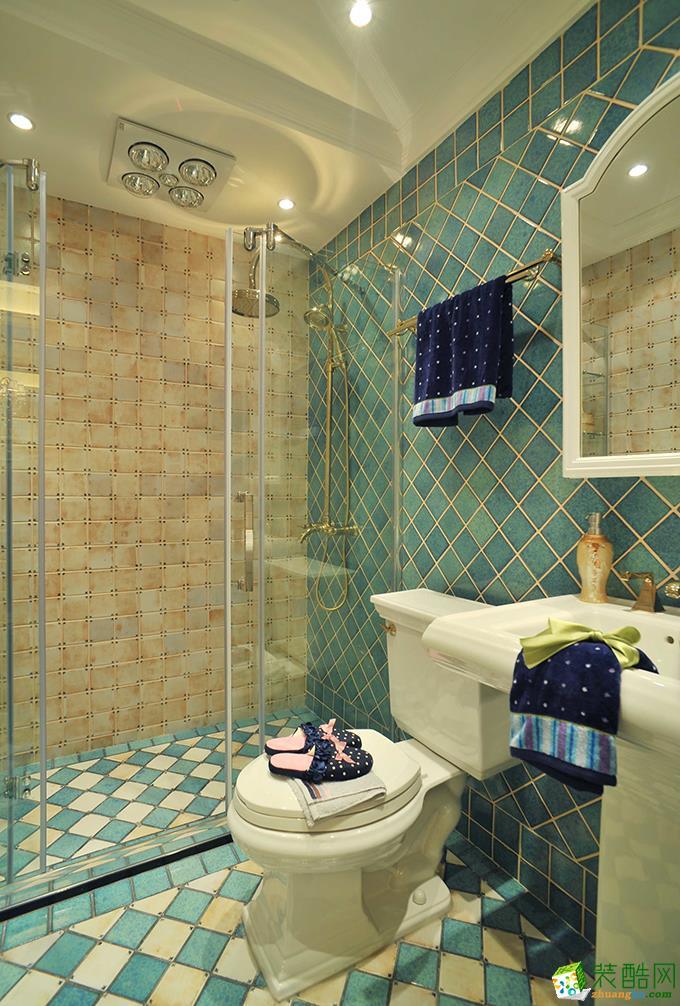 长沙天地和装饰-130平米欧式三居室装修案例