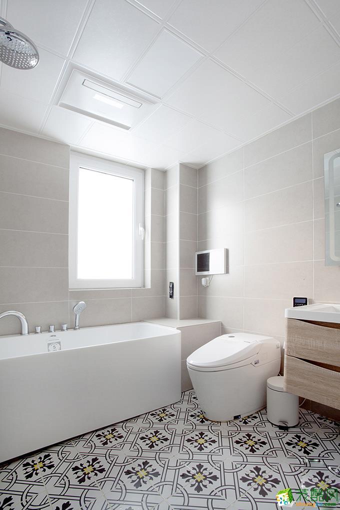 长沙乐家装饰-85平米北欧两居室装修案例