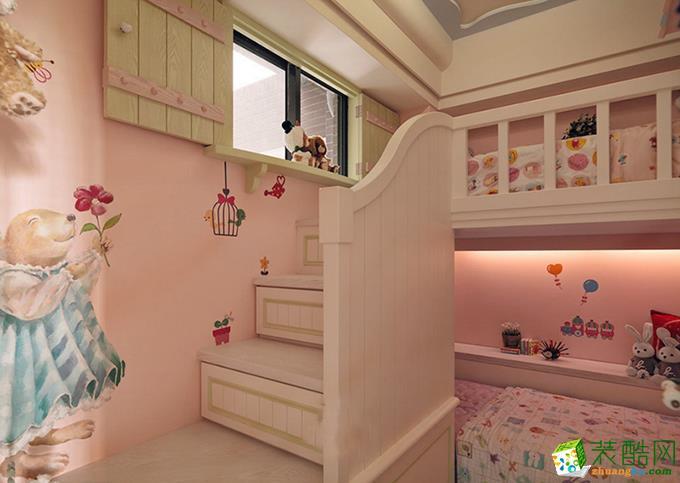 长沙华浔品味装饰-90平米田园两居室装修案例