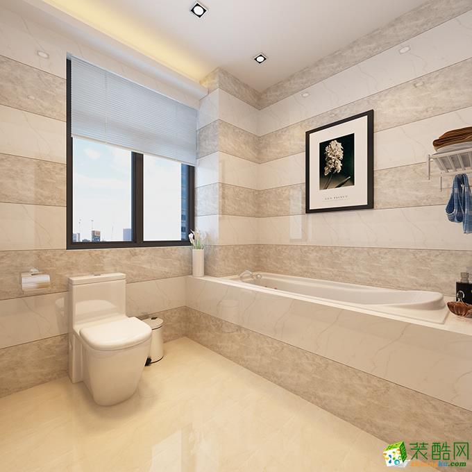 长沙生活家装饰-110平米中式两居室装修案例