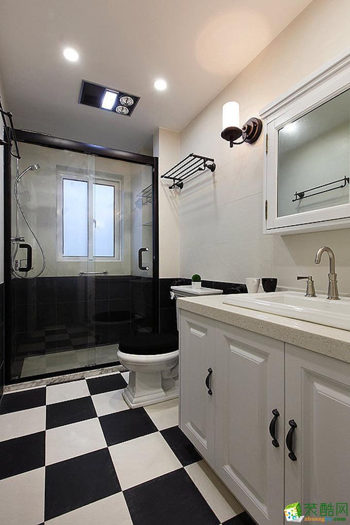 长沙点石家装-105平米现代简约三居室装修案例