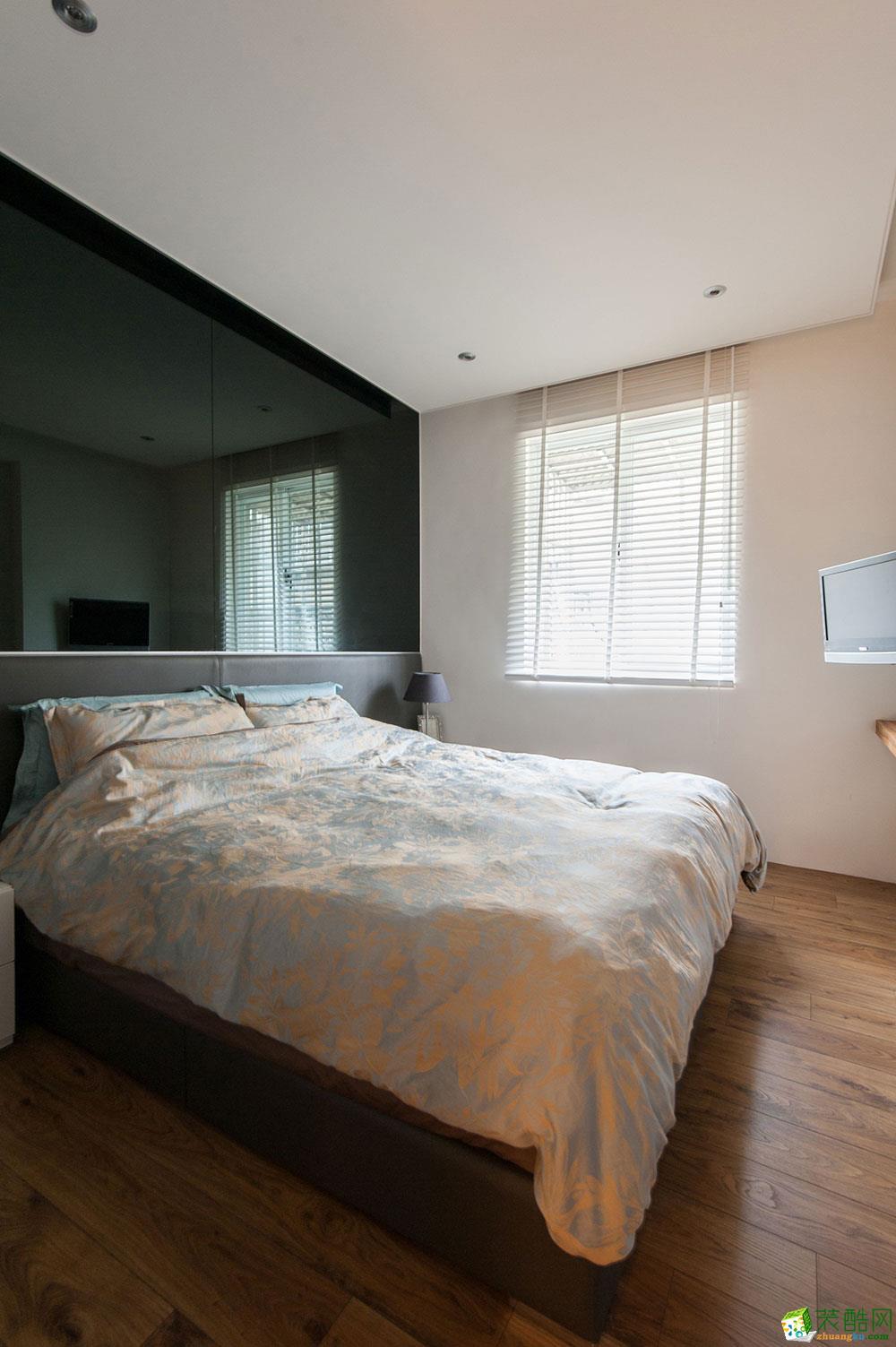 60平二居室混搭风格装修效果图