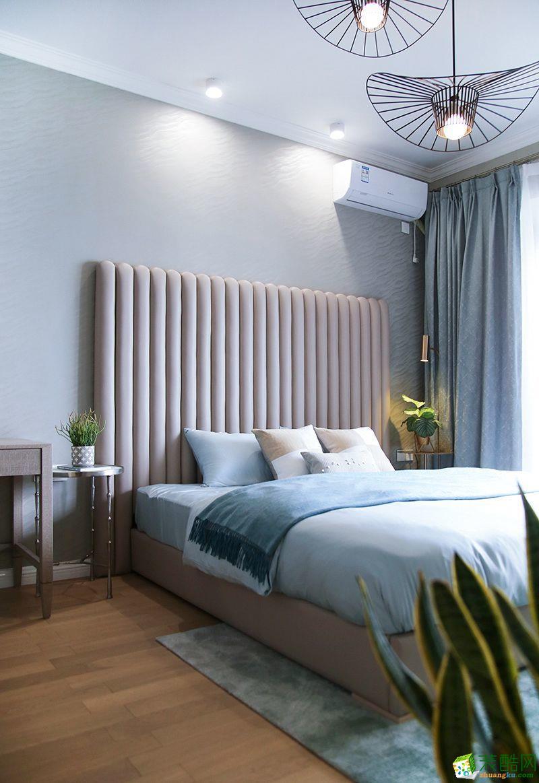 重庆 锦江华府125平米三室一厅一厨一卫混搭风格案例装修效果图赏析-佳天下装饰
