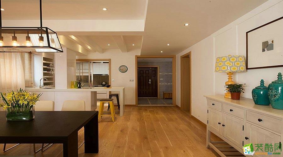 混搭风格190平米别墅住宅案例装修效果图-培安居装饰