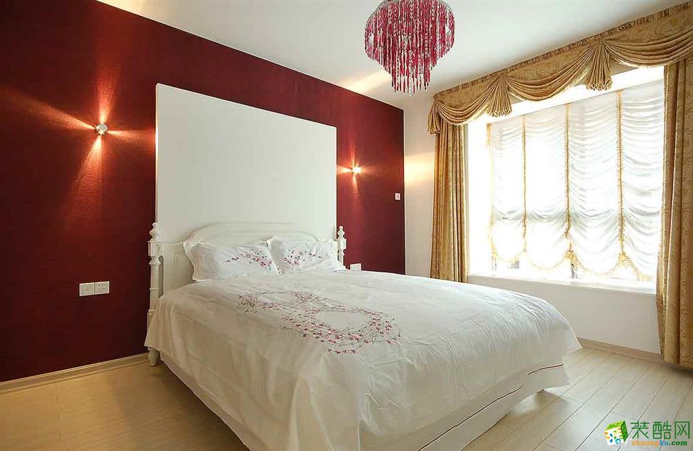 苏州120�O三室两厅装修―世嘉国际华城欧式风格装修效果图