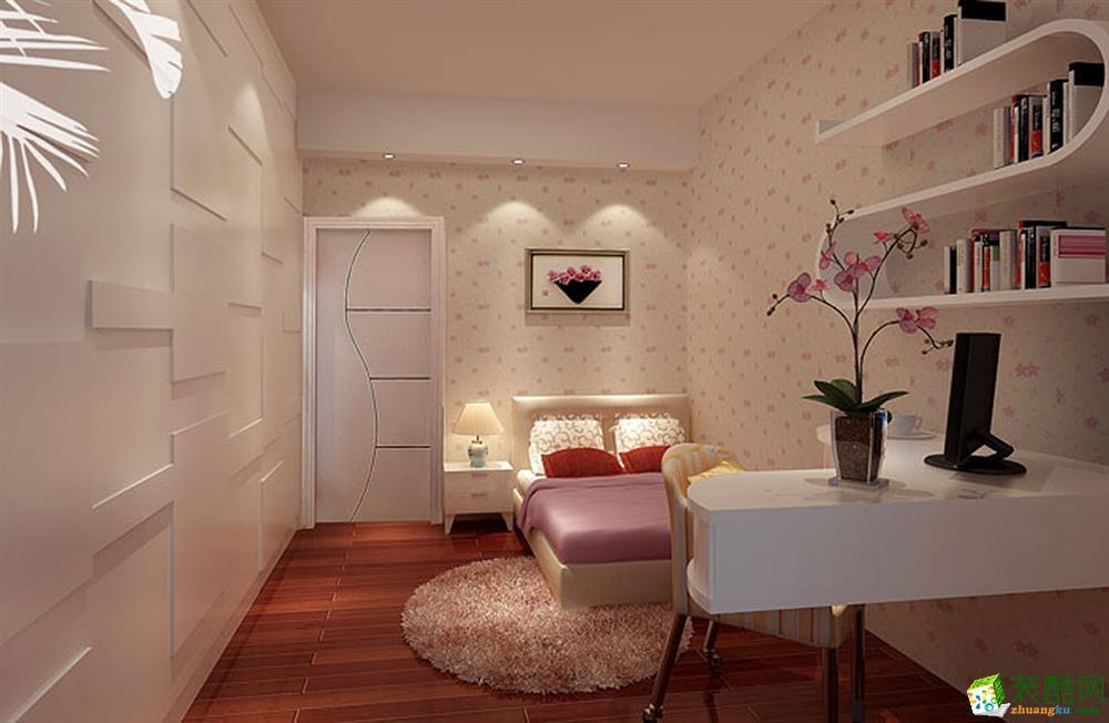 苏州100�O三室一厅装修―中海御景湾现代风格设计效果图