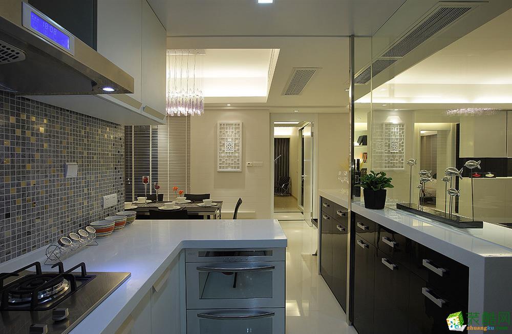 苏州132�O三室两厅装修―海尚壹品简约风格设计效果图