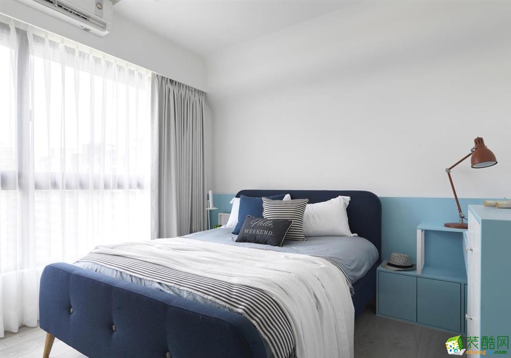 天津60平米两室一厅装修—简约风格装修设计效果图