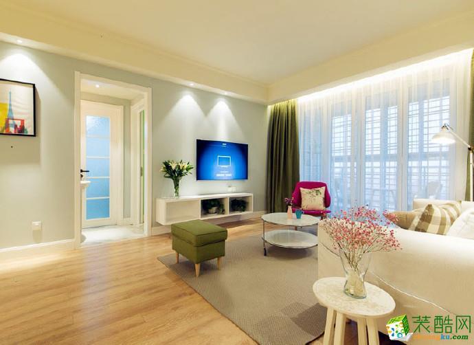 天津112�O三室两厅现代简约风格装修效果图