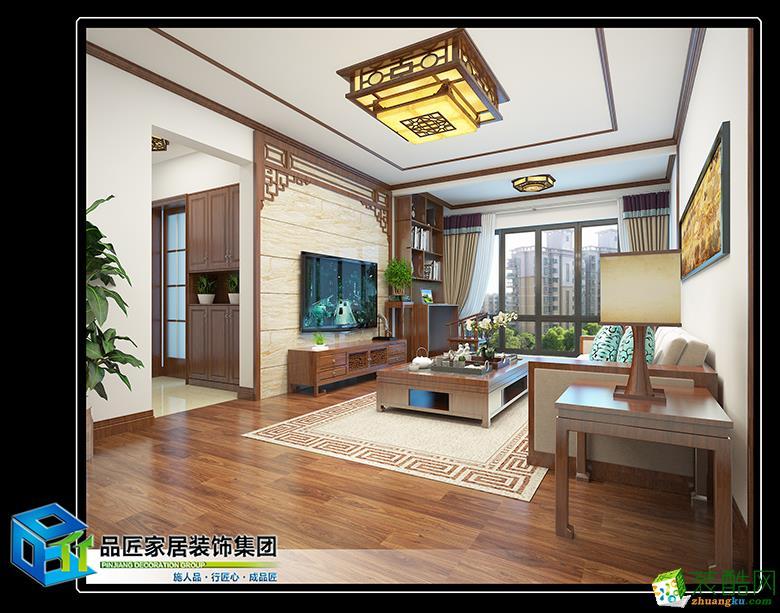 柳州福地华府2栋新中式风格效果图