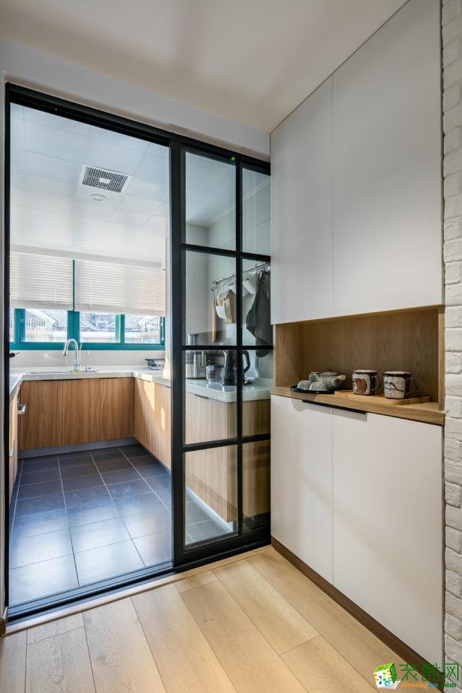 重庆80平米北欧日式混搭两居室设计案例效果图赏析-佳天下装饰