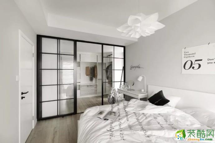 重庆 70�O北欧ins风两室两厅一厨一卫小宅案例装修效果图赏析-佳天下装饰