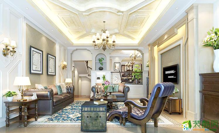 紫金一平180平米欧式风格四室两厅一厨两卫案例装修效果图