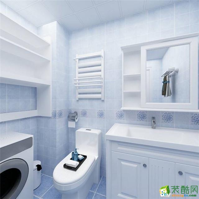 无锡蓝岸装饰-130平米地中海三居室装修案例
