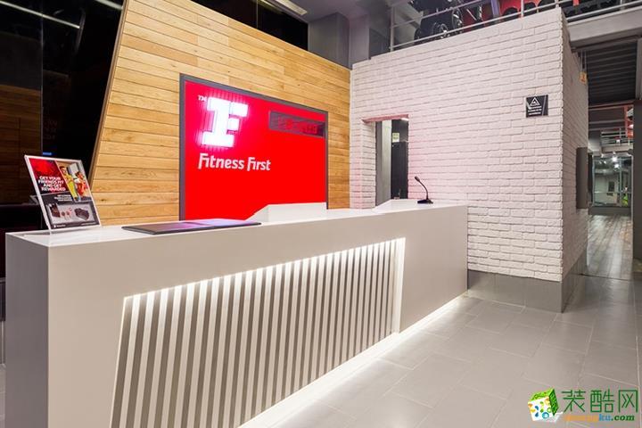 重庆健身房装修-1500平米健身房装修效果图-佳林国际