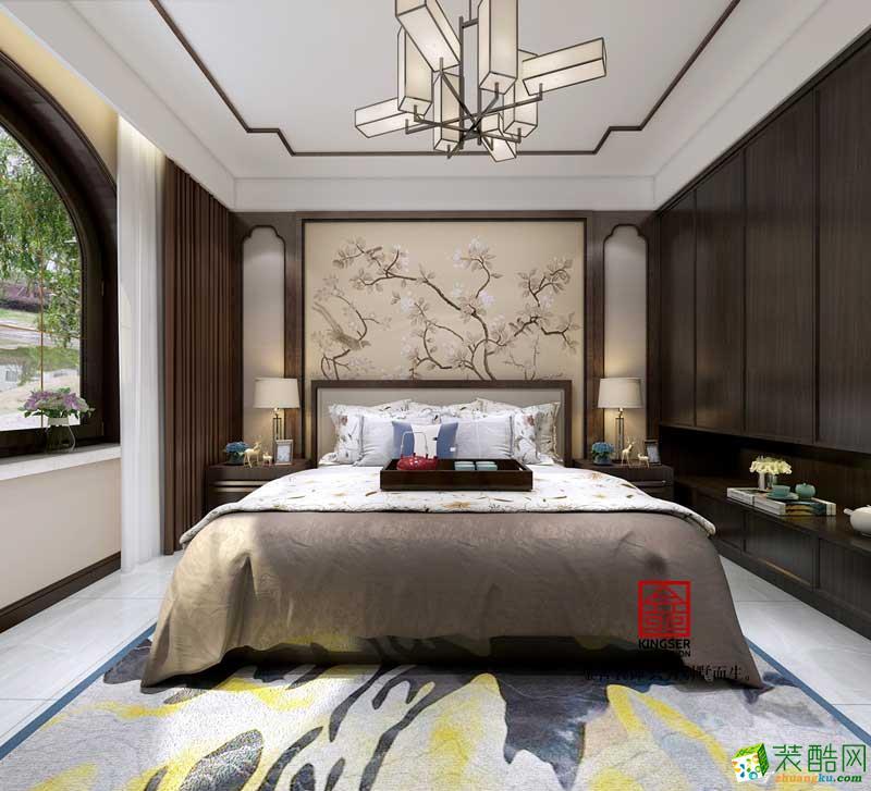 石家庄三室两厅一卫装修―金舍装饰国宾壹号138�O中式风格作品
