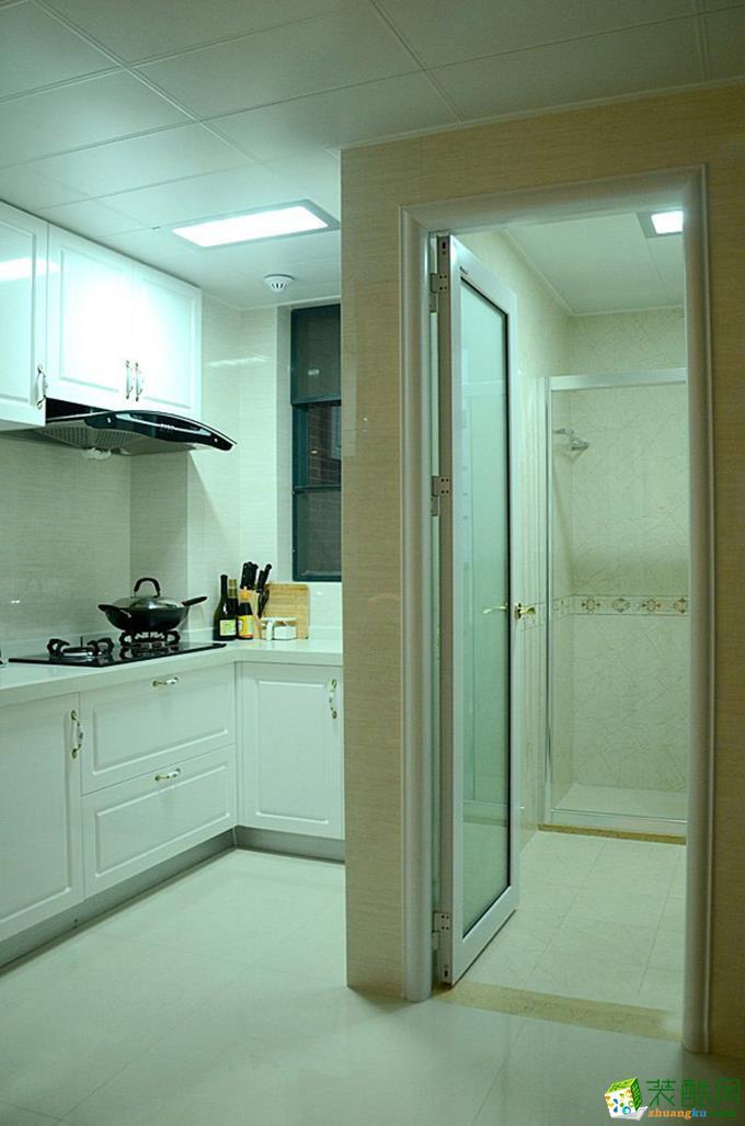 无锡圣都装饰-115平米简欧三居室装修案例