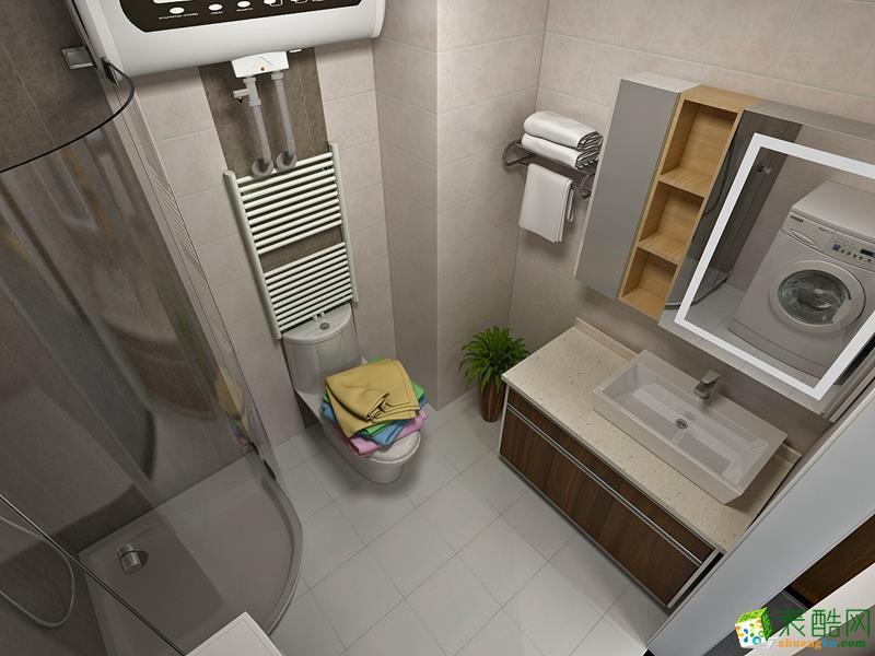 无锡圣都装饰-130平米混搭三居室装修案例