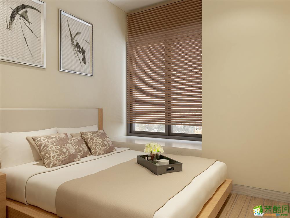 无锡创合装饰-130平米中式三居室装修案例
