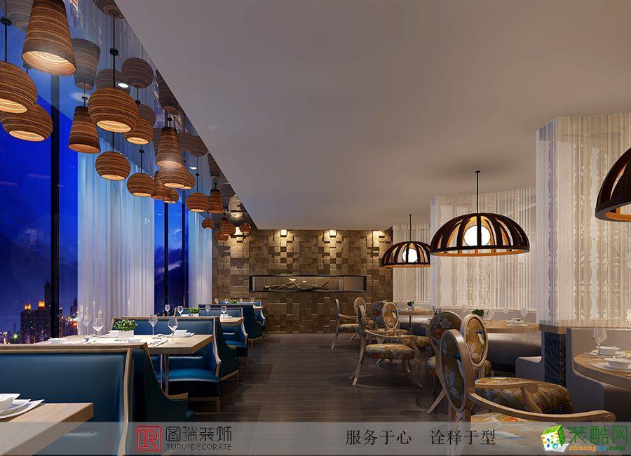 重庆餐厅装修-400平米大型餐馆装修案例效果图