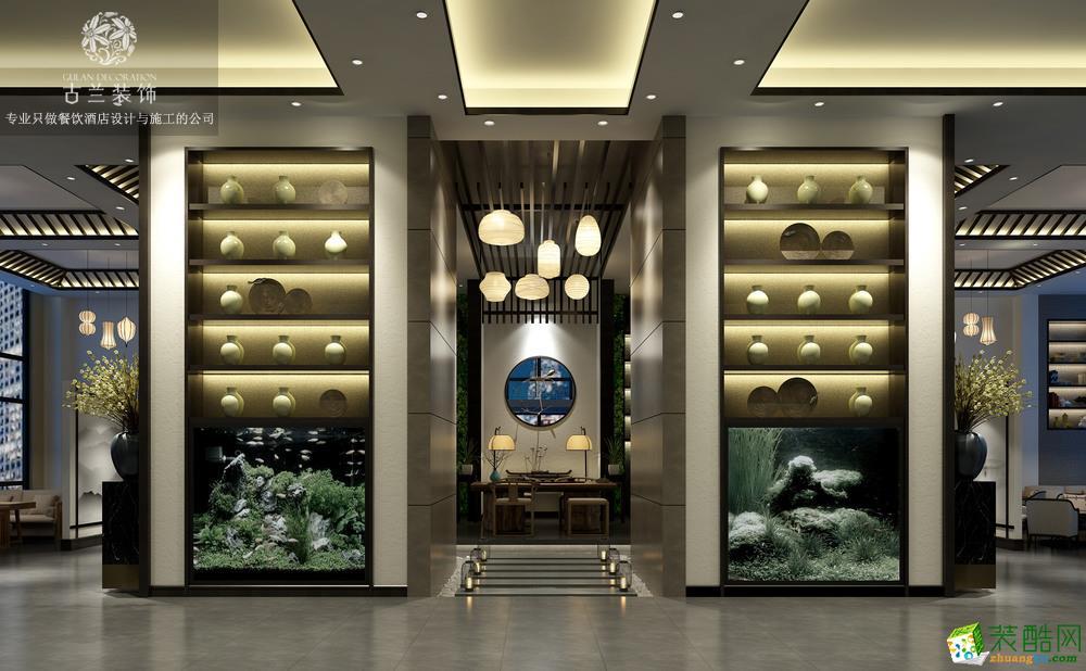 成都酒店装修-成都海伦酒店2000平米大型酒店装修-古兰