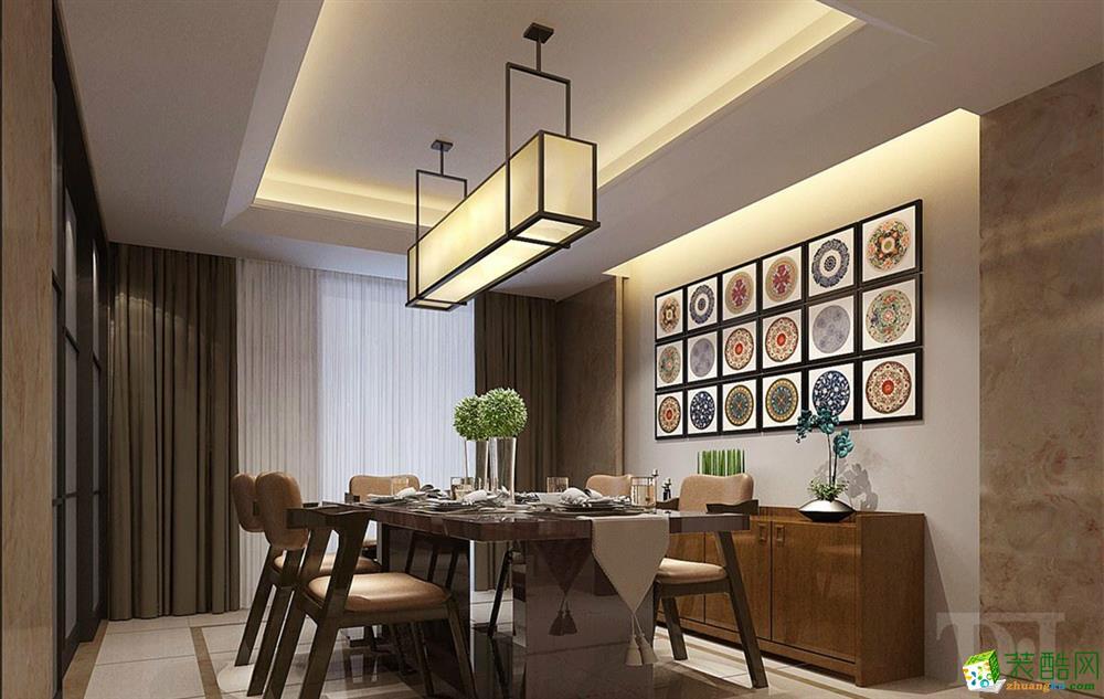 石家庄两室两厅一厨两卫装修―领世郡93平现代风格风格装修作品