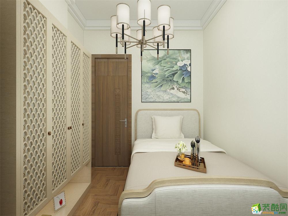 >> 天津74平米两室一厅装修—【力天装饰】天房小区中式风格作品