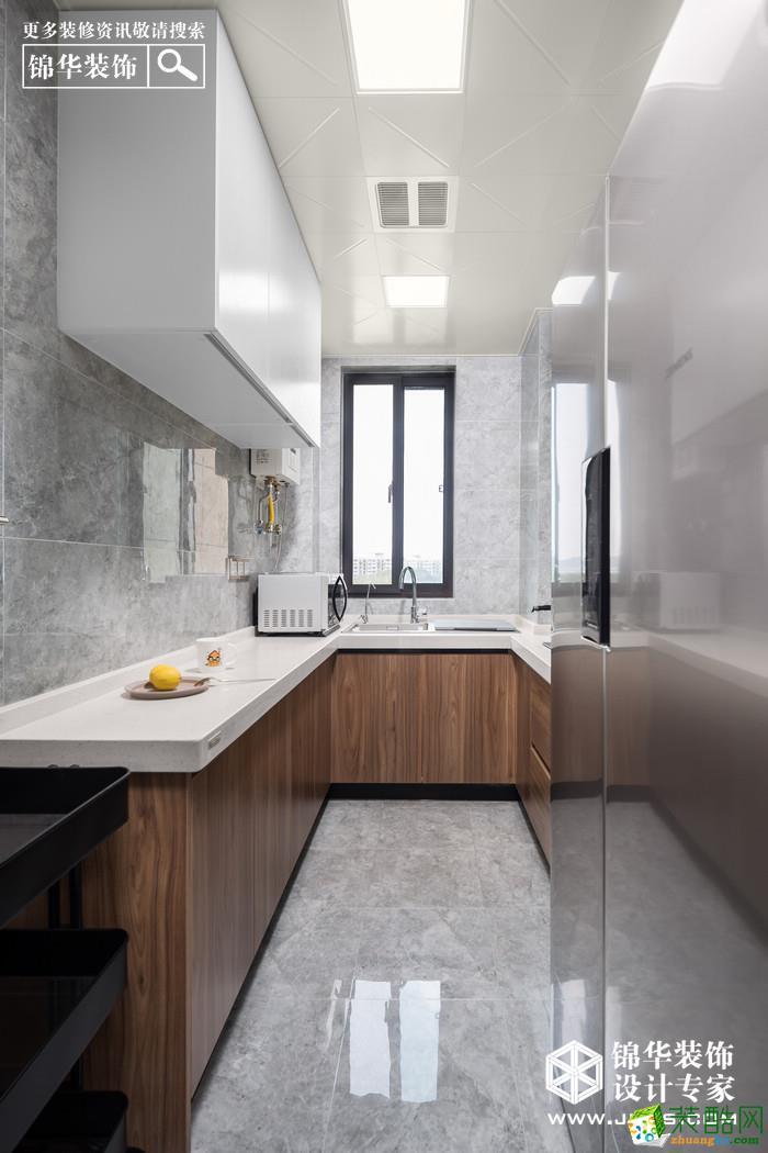 徐州108�O三室两厅装修―青秀城简约风格装修设计效果图