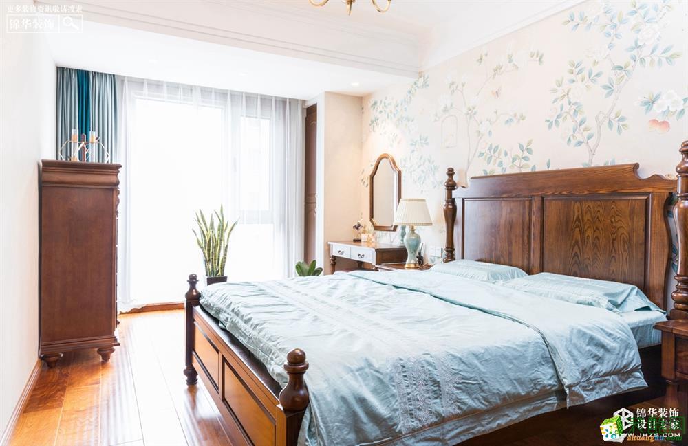 卧室 徐州120�O三室两厅两卫装修―绿地柏林公馆简美风格作品 徐州120�O三室两厅两卫装修―绿地柏林公馆简美风格作品