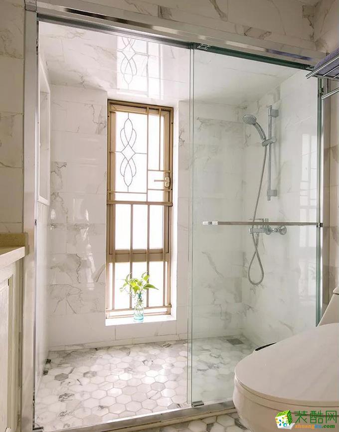 济南新洲装饰-95平米现代简约两居室装修案例