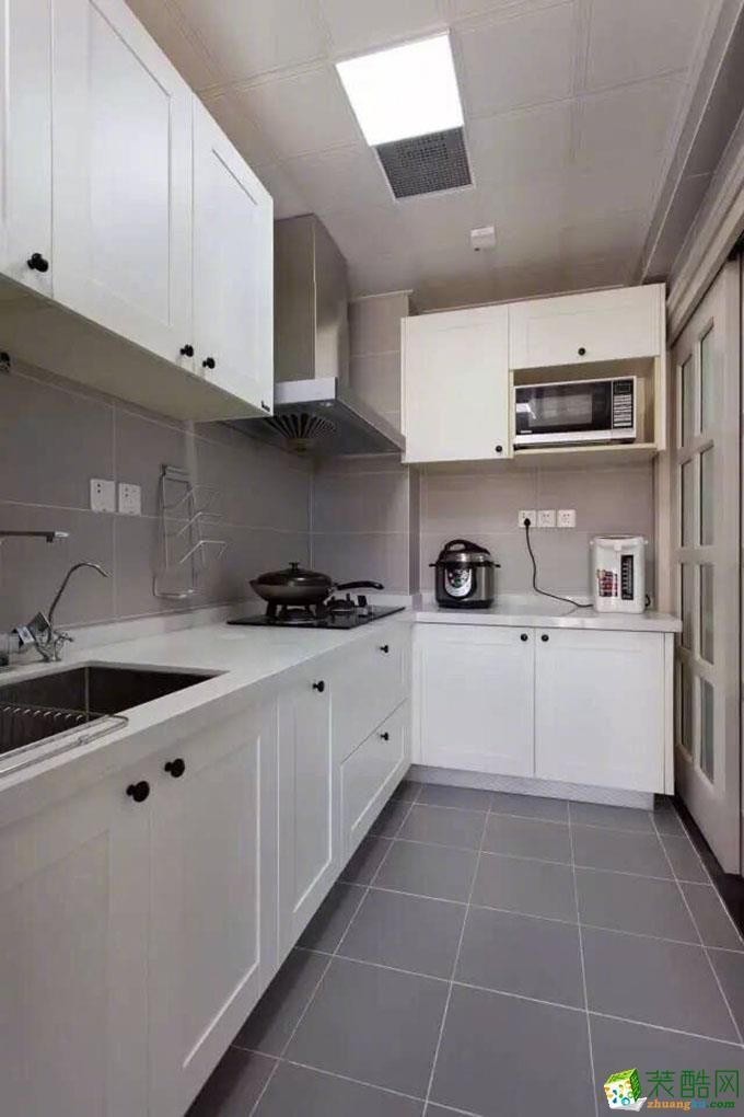 济南新洲装饰-85平米简约两居室装修案例