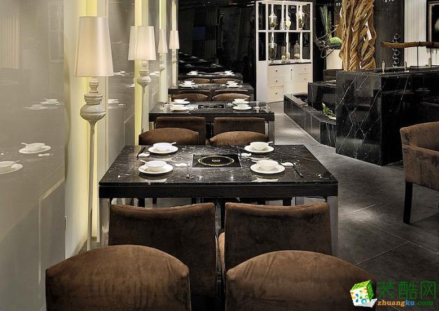 济南瑞祥装饰-餐厅装修案例