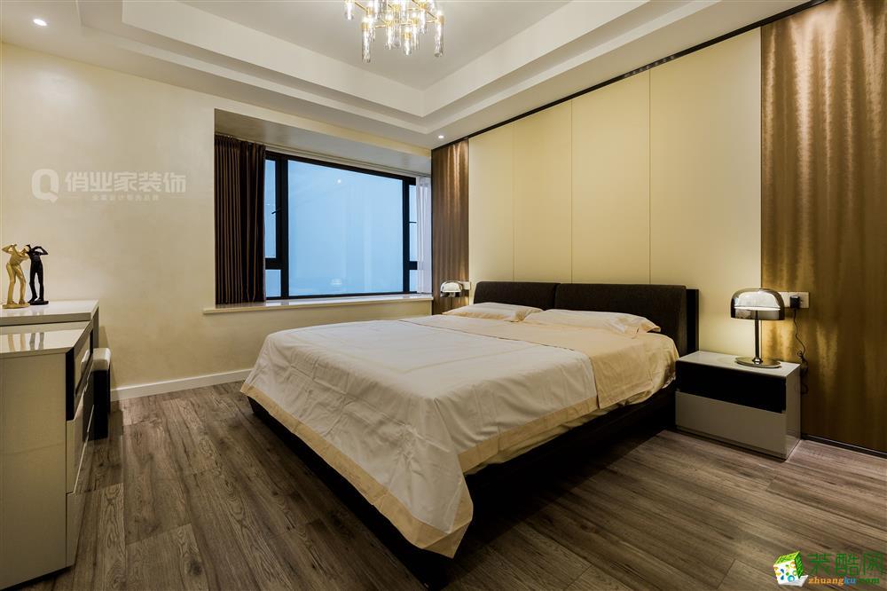 卧室  龙湖江与城原山时光|现代风格|【俏业家装饰】