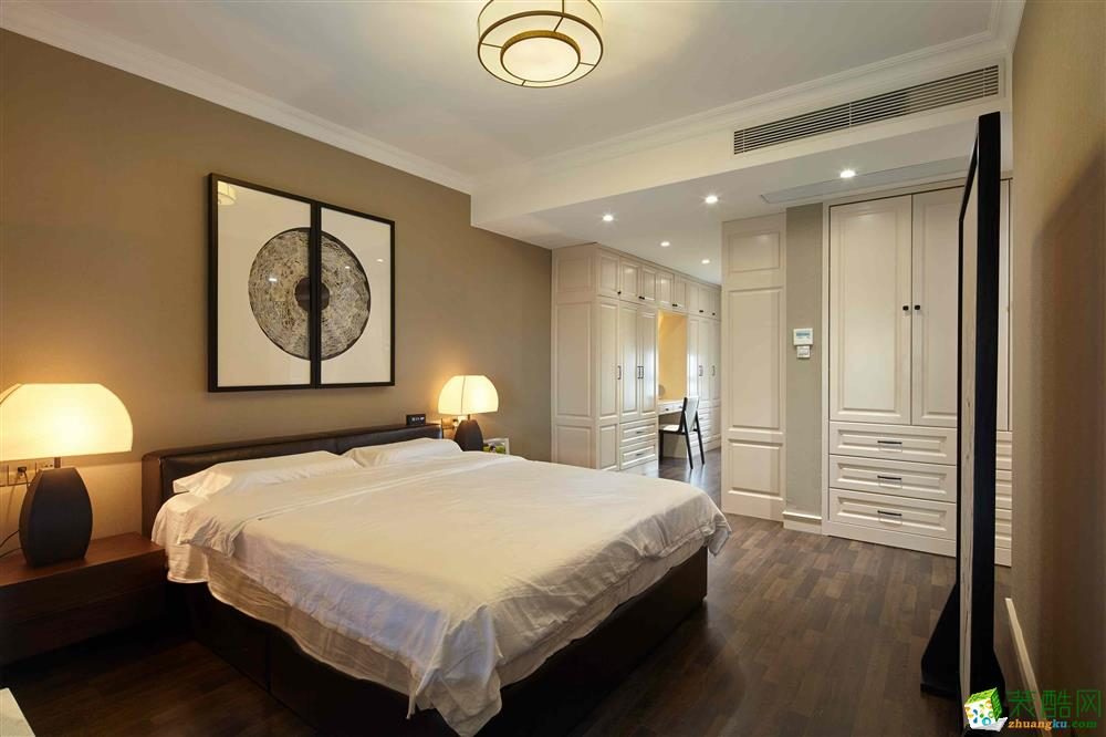 郑州三室两厅一卫装修―鲁公大宅润丰新尚111�O美式风格作品