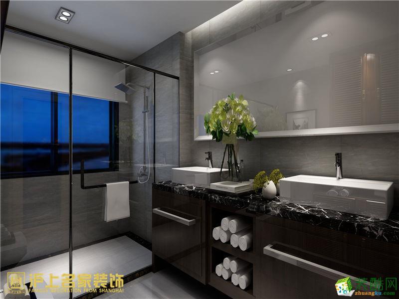 郑州三室两厅两卫装修―沪上名家广电天韵148平新中式风格作品